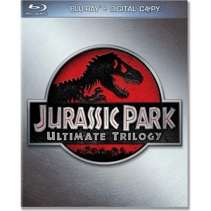 Jurassic Park Trilogy on DVD Bluray Cover