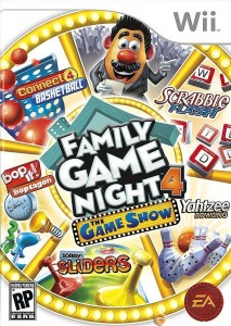 hasbro family game night 4 wii box