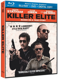 Killer Elite Bluray Cover