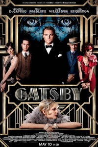 Great Gatsby Movie Poster Warner Brothers 3D