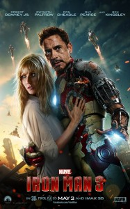 Marvel Iron Man 3 Movie Poster High Res