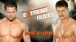 The Miz vs Cody Rhodes WWE Extreme Rules